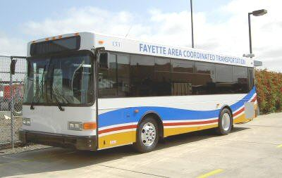 Fayette Area Coordinated Transportation (FACT) bus