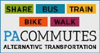 PA Commutes Alternative Transportation Website