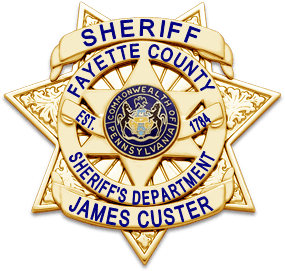 Image of Fayette County Sheriff's Badge