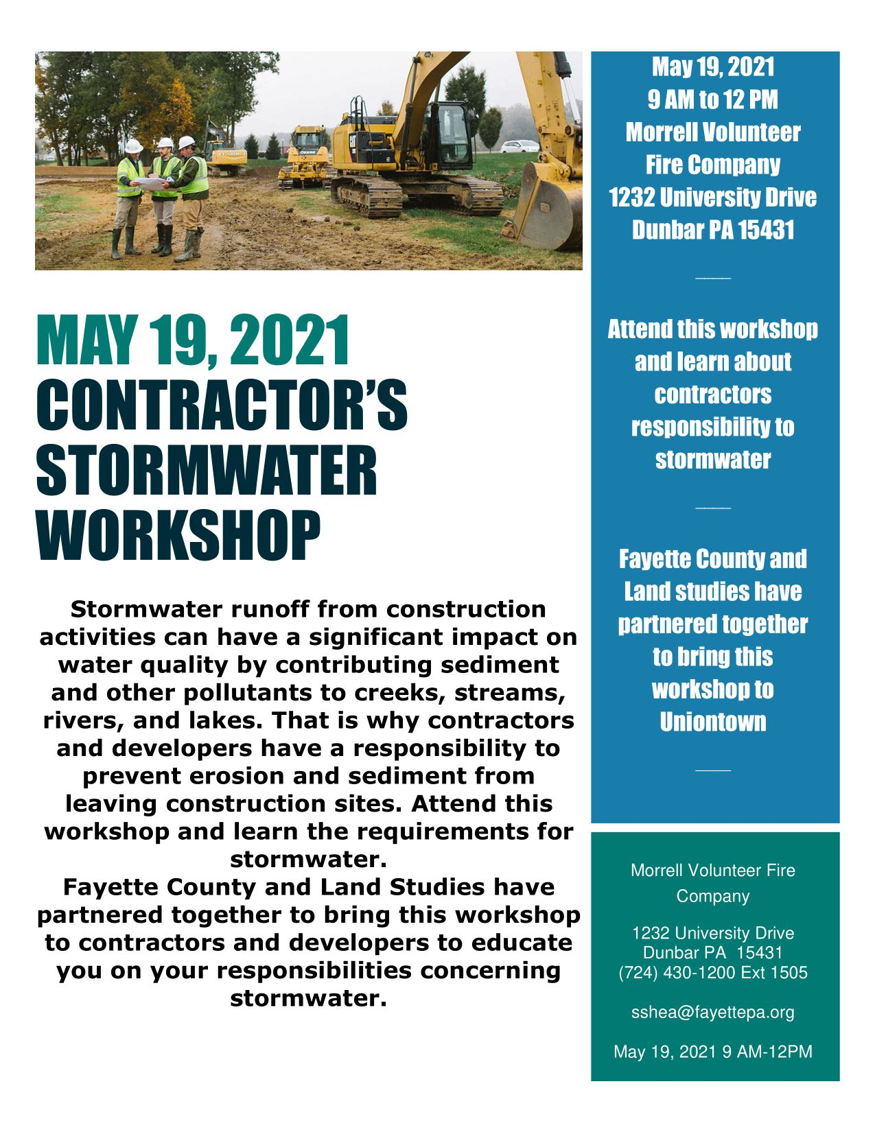 May 19 workshop contractors 2