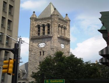 Gallatin Clock Tower