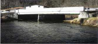End of Old Route 119 Bridge