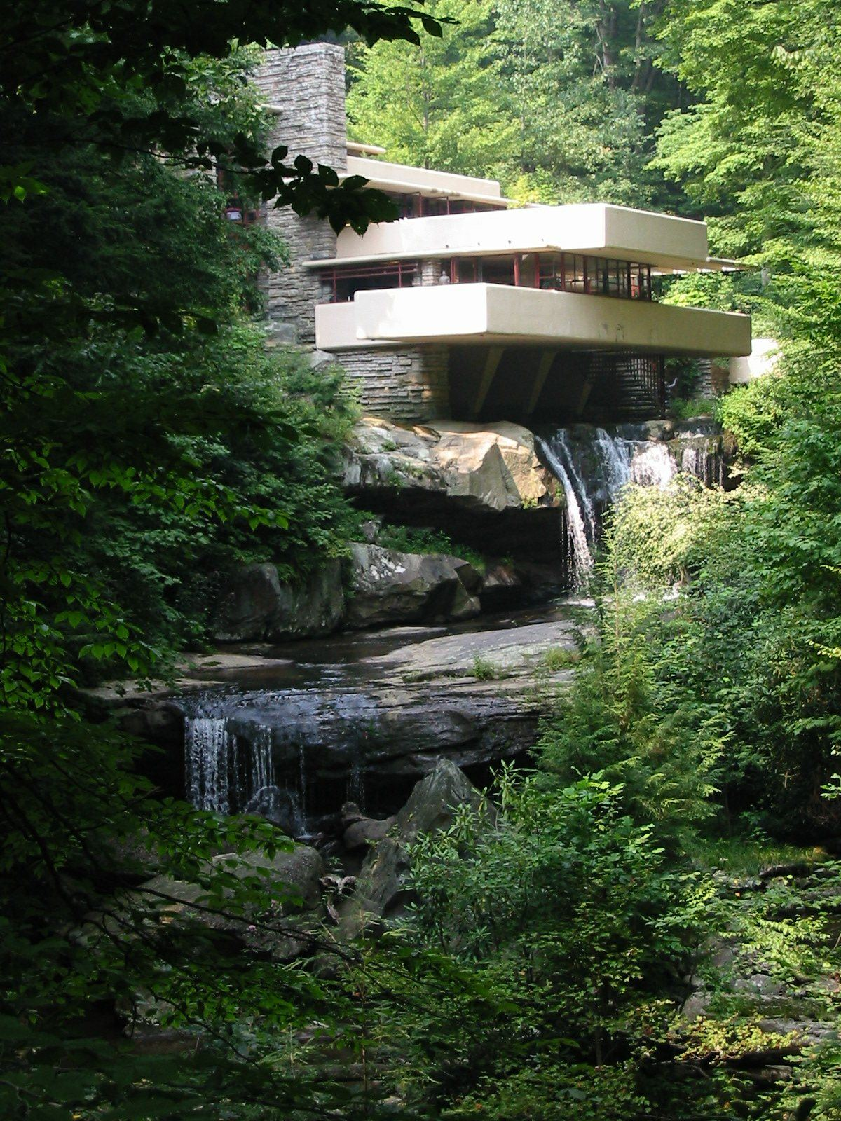 House with Falling Water