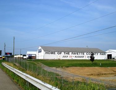 Home of the Fayette County Fair Building