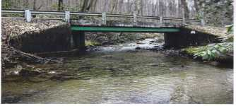 Cucumber Falls Bridge